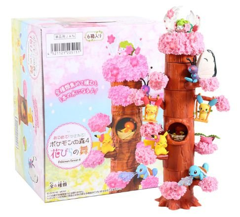 Diorama Forest Pokémon Volume 4 - Animes Geek