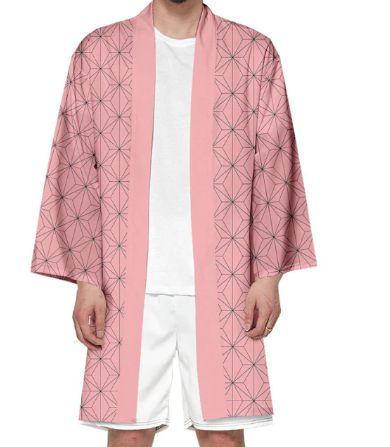 Kimono Nezuko Kamado Demon Slayer Kimetsu No Yaiba - Infantil