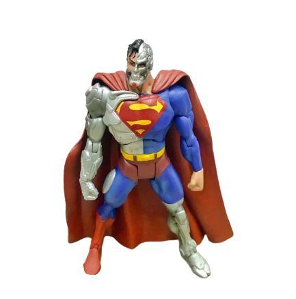 Action Figure Super Man Ciborgue 16 Cm