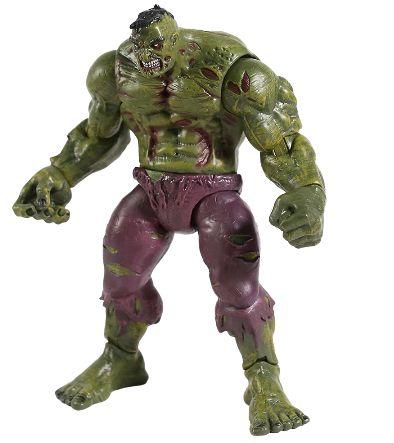 Action Figure Hulk Versão Zombie 20 Cm