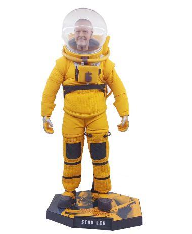 Action Figure 1/6 Stan Lee 30 Cm -  guardiões da galáxia