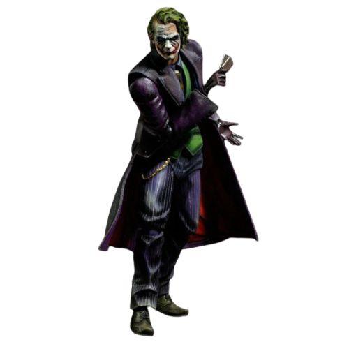 Action Figure Coringa 28 Cm Articulado Arts Kai Variant Joker Batman Cavaleiro das Trevas