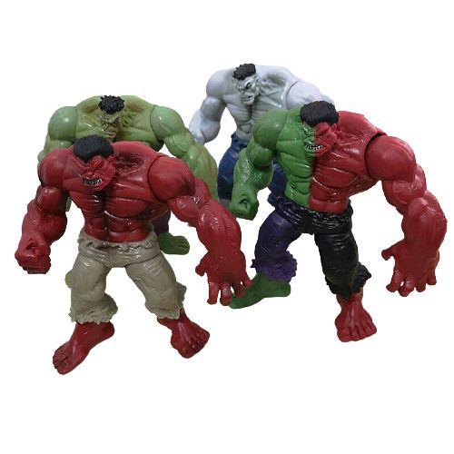 Pack com 4 Action Figures Hulk Marvel