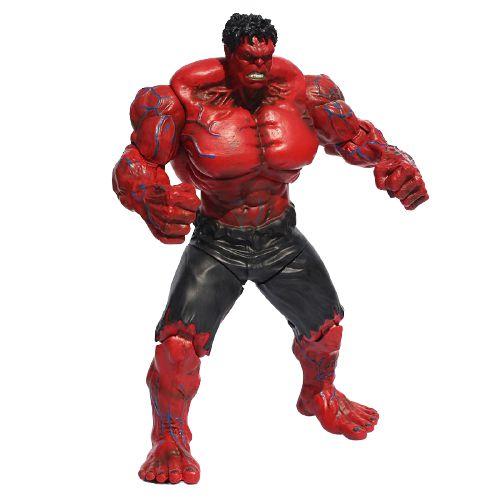 Action Figure Hulk Versão Red Hulk 26 Cm