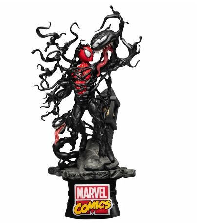 Figure Estátua Venom Vs Spider Man Marvel Comics - Beast Kingdom