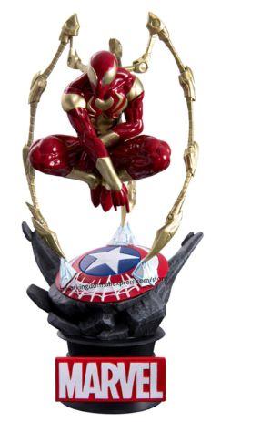 Figure Estátua Iron Spider Man Ver. II Marvel Comics - Beast Kingdom