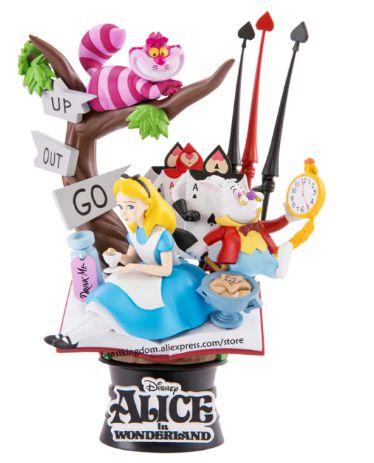 Figure Estátua Alice no País das Maravilhas Disney - Beast Kingdom