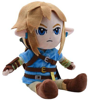 Pelúcia Link Zelda Breath Of The Wild 27 Cm - Games Geek