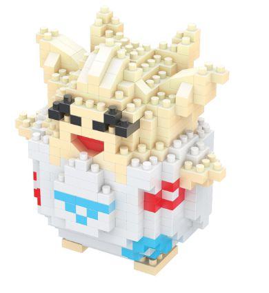 Mini Blocos de Montar Pokémon 12 Cm  -  Togepi