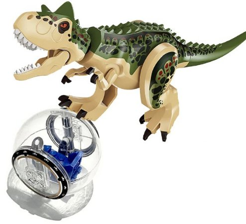 Kit Jurassic Park Blocos de Montar Modelo 1 - Cinema Geek