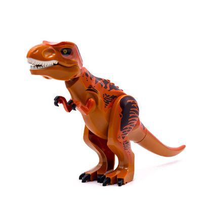 T-REX 28 Cm de Comprimento Jurassic Park - Blocos de Montar