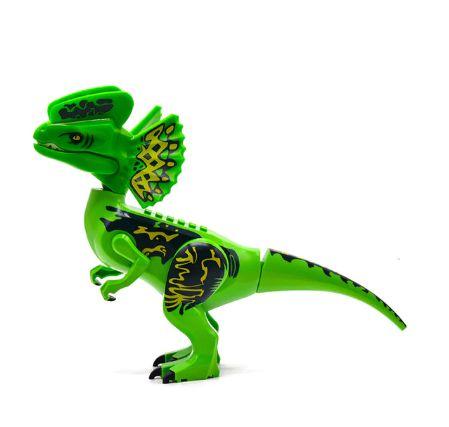 Dilofossauro 28 Cm de Comprimento Jurassic Park - Blocos de Montar