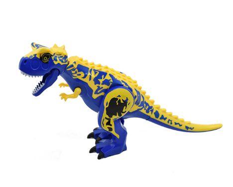Carnotauro Blue 28 Cm de Comprimento Jurassic Park - Blocos de Montar
