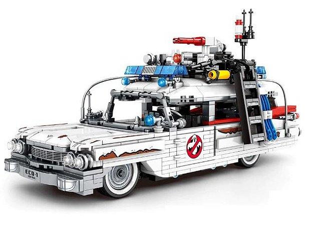 Ectomóvel Os Caça-Fantasmas Blocos de montar 30 Cm 1126 peças - Ghostbusters