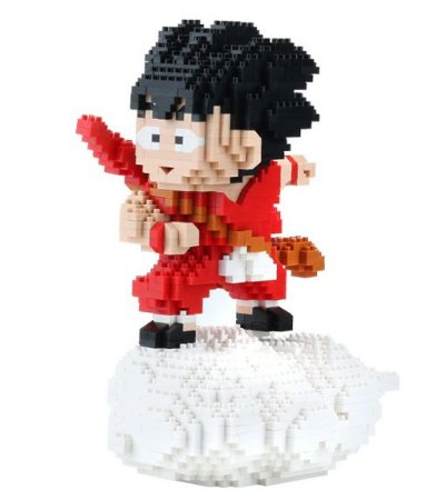 Kid Goku 1500 peças Blocos de Montar - Dragon Ball
