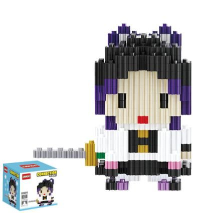 Mini Blocks MQFun Demon Slayer Kocho Shinobu + 268 peças 8,6Cm x 8,4Cm - Kimetsu No Yaiba