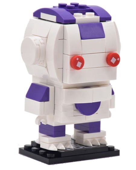 Brickheadz Freeza + 114 peças Dragon Ball - Blocos de montar 8,5Cm x 4,8Cm x 6Cm