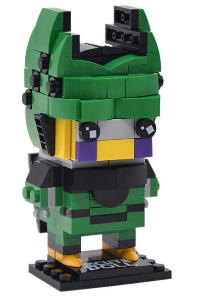 Brickheadz Cell + 171 peças Dragon Ball - Blocos de montar 10,5Cm x 5,5Cm x 5,5Cm