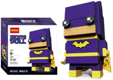 Brickheadz Bat Woman + 99 peças Dc Comics - Blocos de montar 9Cm x 3,5Cm x 4,5Cm