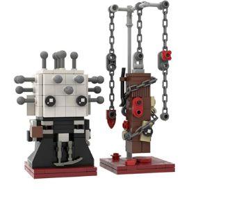 Brickheadz Hellraiser + 235 peças - Blocos de montar 16Cm x 7,2Cm x 3,6Cm