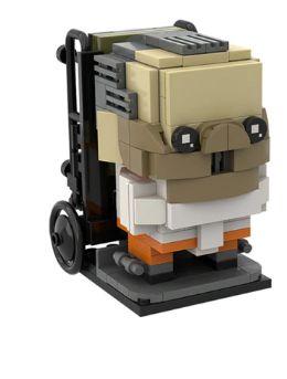 Brickheadz Hannibal + 207 peças - Blocos de montar 6Cm x 5,6Cm x 5,6Cm