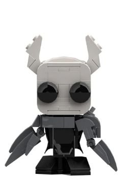 Brickheadz Hollow Knight + 99 peças - Blocos de montar 8,6Cm x 6Cm x 4Cm