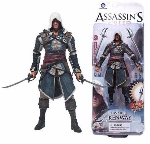 Action Figure Edward Kenway - 15Cm - Assassin's Creed - Games Geek