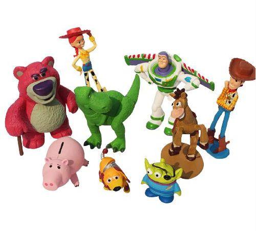 Pack com 09 bonecos Toy Story Pixar - Cinema Geek