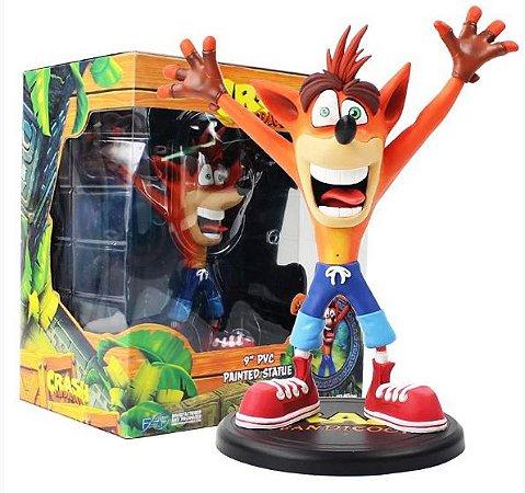 Estátua Crash Bandicoot 23Cm - Games Geek