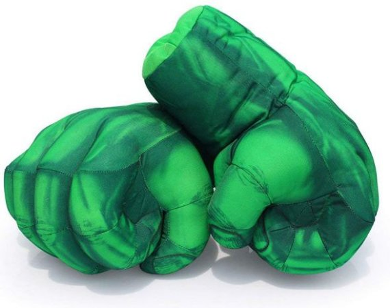Pelúcia Mãos do Incrível Hulk Vingadores - Marvel