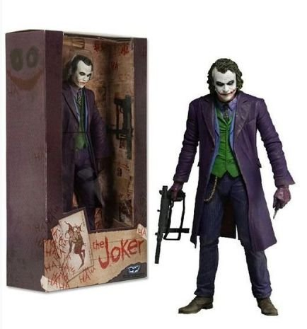 Action Figure Joker Dark Knight 18Cm - NECA