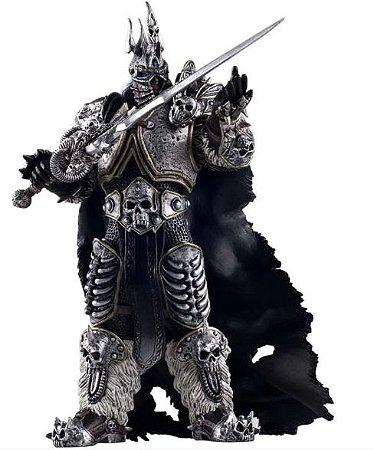 Estátua Fall of the Lich King Arthas Menethil - World Of Warcraft