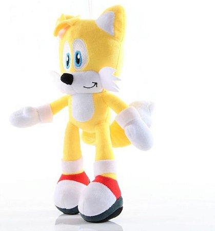 Pelúcia Tails 30Cm Sonic The Hedgehog - Games Geek