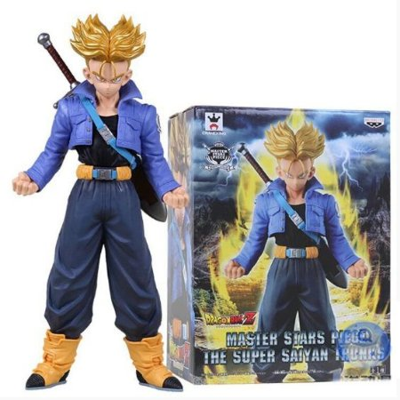 Figure Estátua Trunks Super Sayajin 25Cm - Dragon Ball