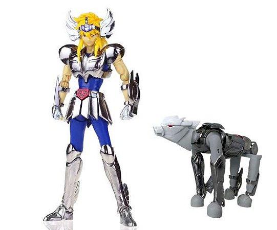 Action Figure Hyoga de Cisne 20Cm - Cavaleiros do Zodíaco