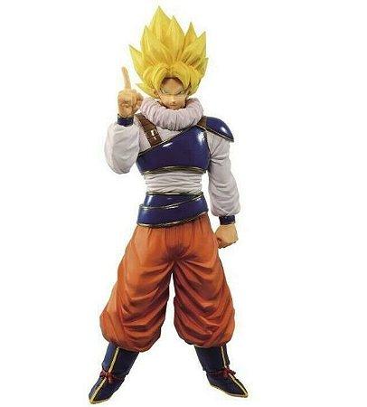 Figure Estátua Goku SSJ Estilo Yardrat - Dragon Ball Legends
