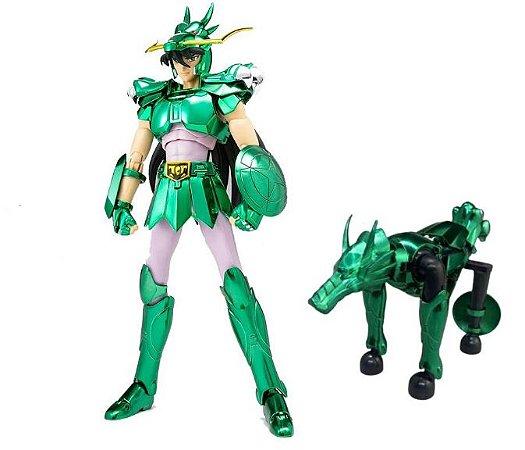 Action Figure Shiryu de Dragão 20Cm - Cavaleiros do Zodíaco