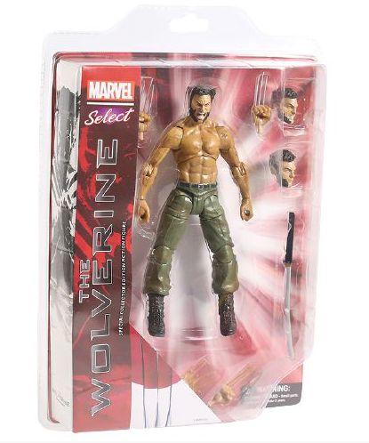 Action Figure Logan The Wolverine - Marvel