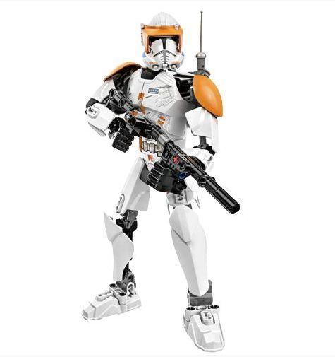 Figure Clone Comander 100 peças - Blocos de Montar