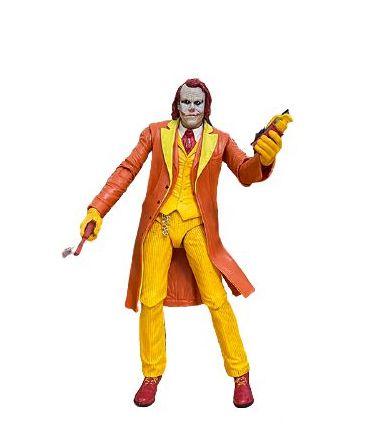 Action Figure Joker Coringa Versão Ronald McDonald - Neca