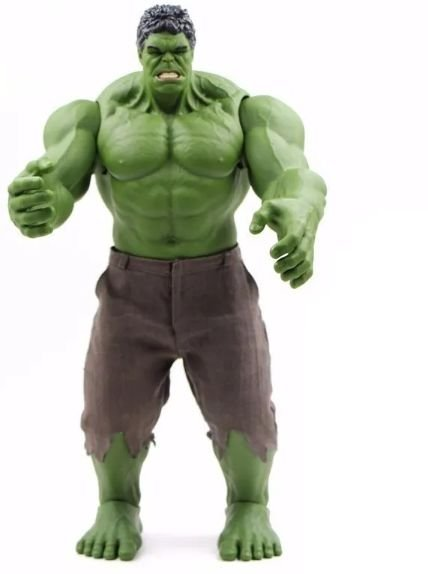 Action Figure O Incrível Hulk 42Cm Marvel - Cinema Geek