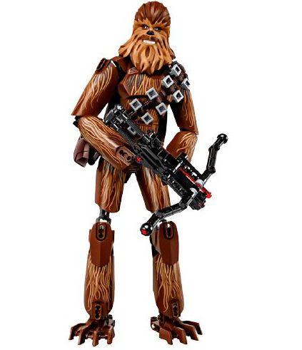 Blocos de Montar Chewbacca 179 peças - Star Wars