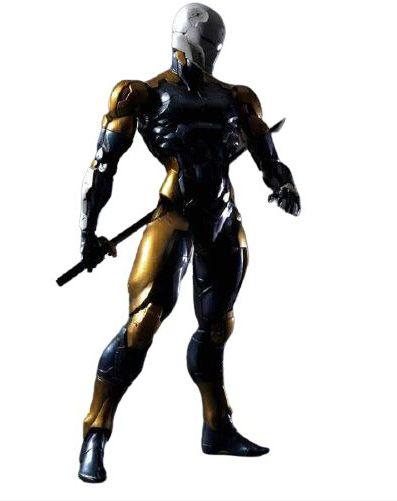 Action Figure Gray Fox 25Cm - Metal Gear Solid