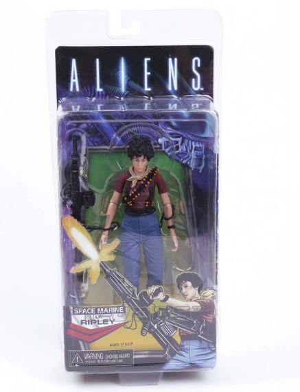 Action Figure Space Marine Lt. Ripley Aliens - Neca