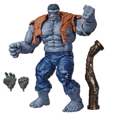 Action Figure Hulk: Gray 23Cm - Marvel