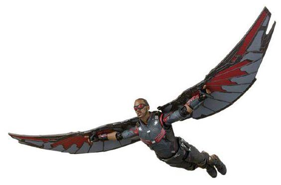Action Figure Sam Wilson Falcão Avengers Endgame - Marvel Comics