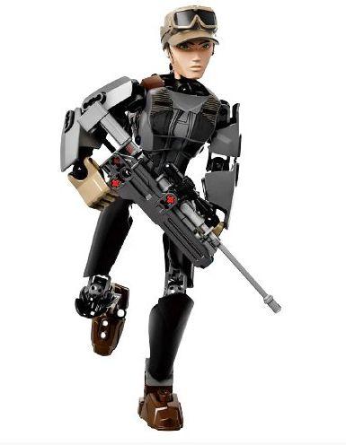 Blocos de Montar Sargento Jyn Erso 104 peças - Star Wars