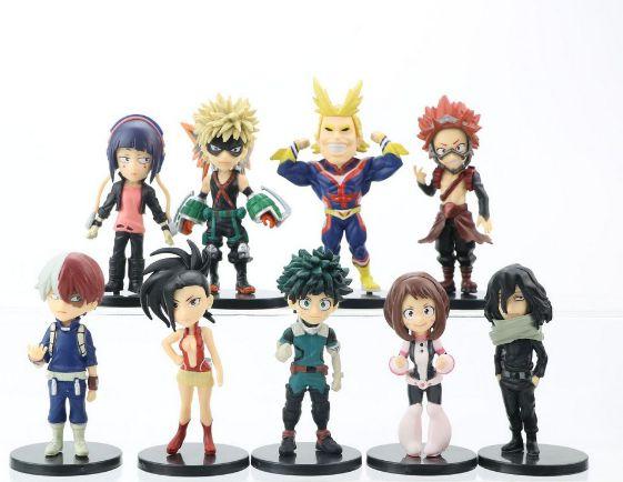 Pack 09 Figures Boku No Hero - My Hero Academia