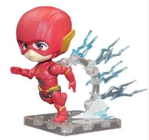 Action Figure Kawaii Flash DC Comics - Liga da Justiça