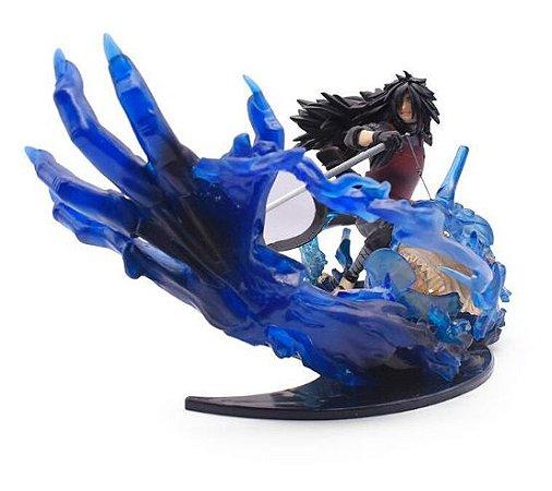 Figure Estátua Madara Uchiha 22cm - Naruto Shippuden